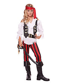 Kids Posh Pirate Costume