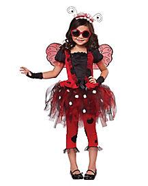 Lovely Ladybug Girls Costume