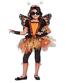 Kids Magnificent Monarch Butterfly Costume