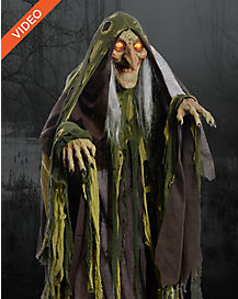 5 Ft Swamp Hag Animatronics - Decorations