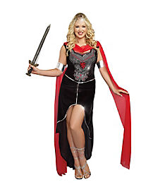 Adult Scandals Warrior Plus Size Costume