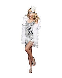 Adult Life's a Party Flapper Costume
