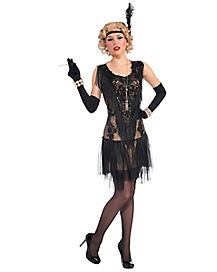 Adult Roaring 20s Lacey Lindy Costume