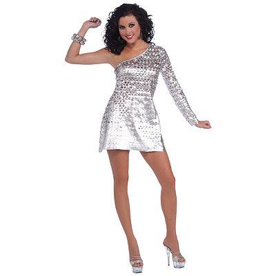 Adult Disco Honey 70s Dress Costume