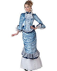 Victorian Lady Womens Theatrical Costume