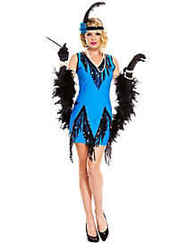 Adult Fascinating Flapper Costume