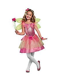 Kids Flower Fairy Costume