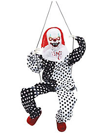 Animated Swinging Clown - Decorations
