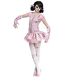 Zombie Ballerina Child Costume