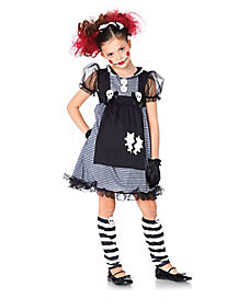 Kids Dark Dollie Costume