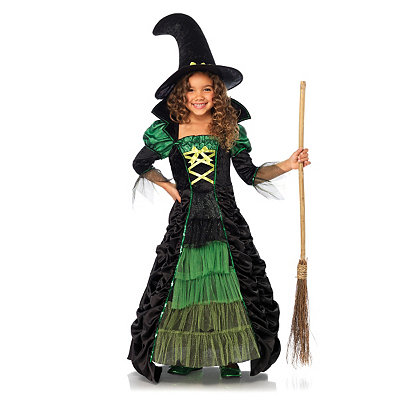 Storybook Witch Girls Costume