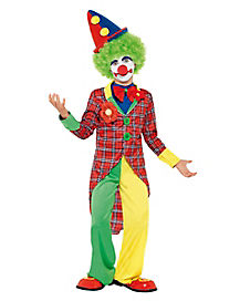 Happy Clown Child Costume