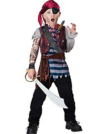 Kids Dead Mans Chest Pirate Costume