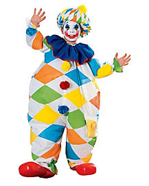 Kids Inflatable Clown Costume