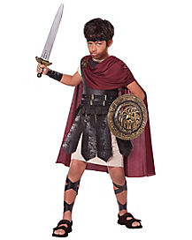 Kids Spartan Warrior Costume