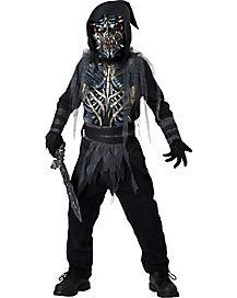 Kids Death Warrior Costume