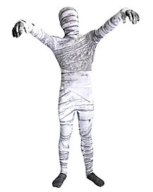 Kids Mummy Skin Suit Costume