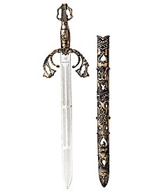 Medieval Sword With Sheath