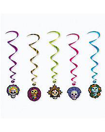 Day of Dead Swirls 5-Pack