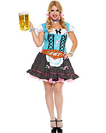 Miss Oktoberfest Plus Size Womens Costume