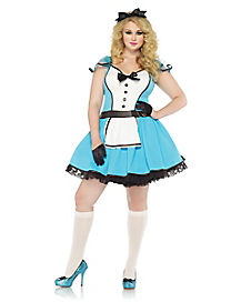 Storybook Alice Adult Womens Plus Size Costume