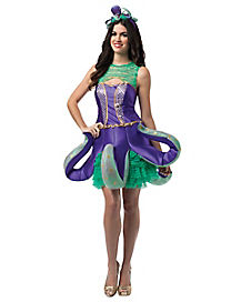 Ornate Octopus Adult Womens Costume