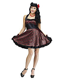 Cherry Bomb Dress Adult Womens Costume