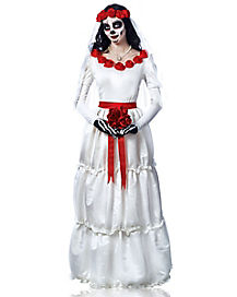 Adult Bride Day of the Dead Costume