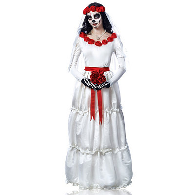 Day of Dead Bride Womens Costume $64.99 AT vintagedancer.com