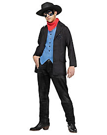 Kids Wild West Avenger Cowboy Costume