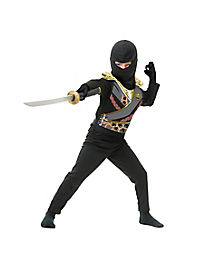 Black Ninja Avenger Armor Child Costume