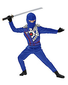 Blue Ninja Avenger Armor Child Costume