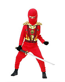 Kids Avenger Armor Red Ninja Costume