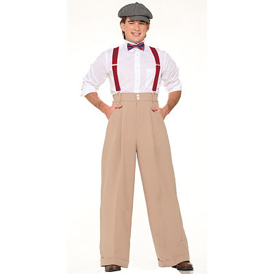 Adult Roaring 20s Pants- Deluxe $26.99 AT vintagedancer.com
