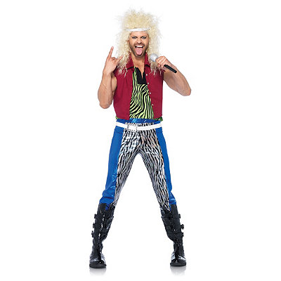 Adult 80s Rock God Costume
