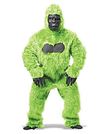 Adult Neon Green Gorilla Costume