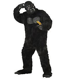 Adult Gorilla Mascot Costume