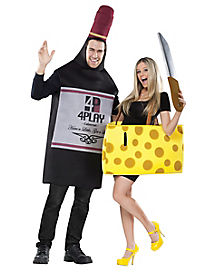 Adult Wine and Cheese Couples Costume