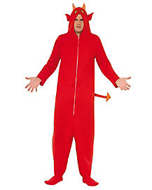 Adult Hooded Devil Costume