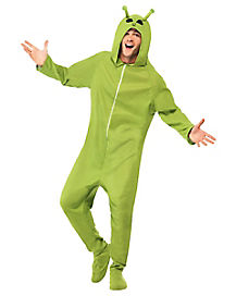 Adult Hooded Alien Costume
