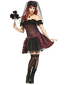 Adult Drac's Bride Vampire Costume