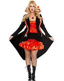 Vampire Countess Plus Size Womens Costume