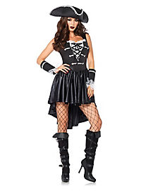 Adult Captain Black Heart Pirate Costume