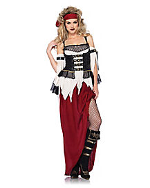 Swashbuckler Pirate Adult Womens Costume