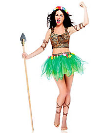 Princess of the Jungle Adult Womens Costume