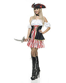 Sassy Pirate Womens Costume