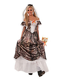 Adult Huntin for Love Bride Costume