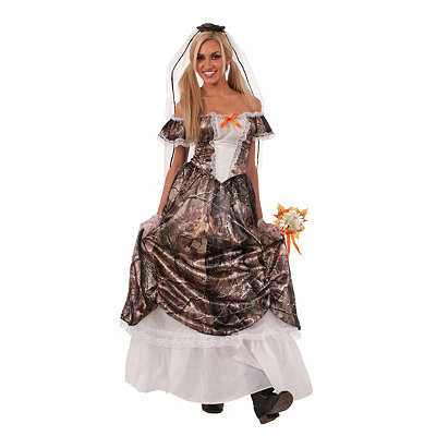 Huntin for Love Bride Adult Womens Costume $49.99 AT vintagedancer.com