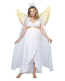 Adult Guardian Angel Plus Size Costume