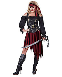 Queen of the Sea Adult Womens Pirate Costume